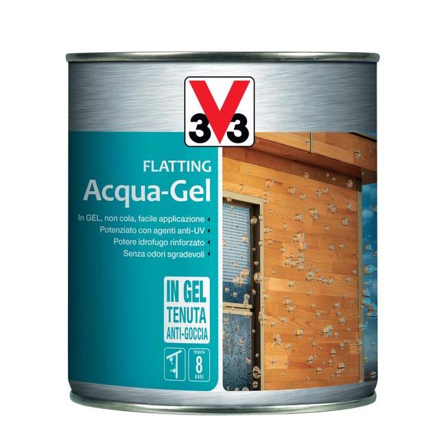 Flatting liquido V33 Acqua-Gel 0.75 L noce scuro lucido - 1