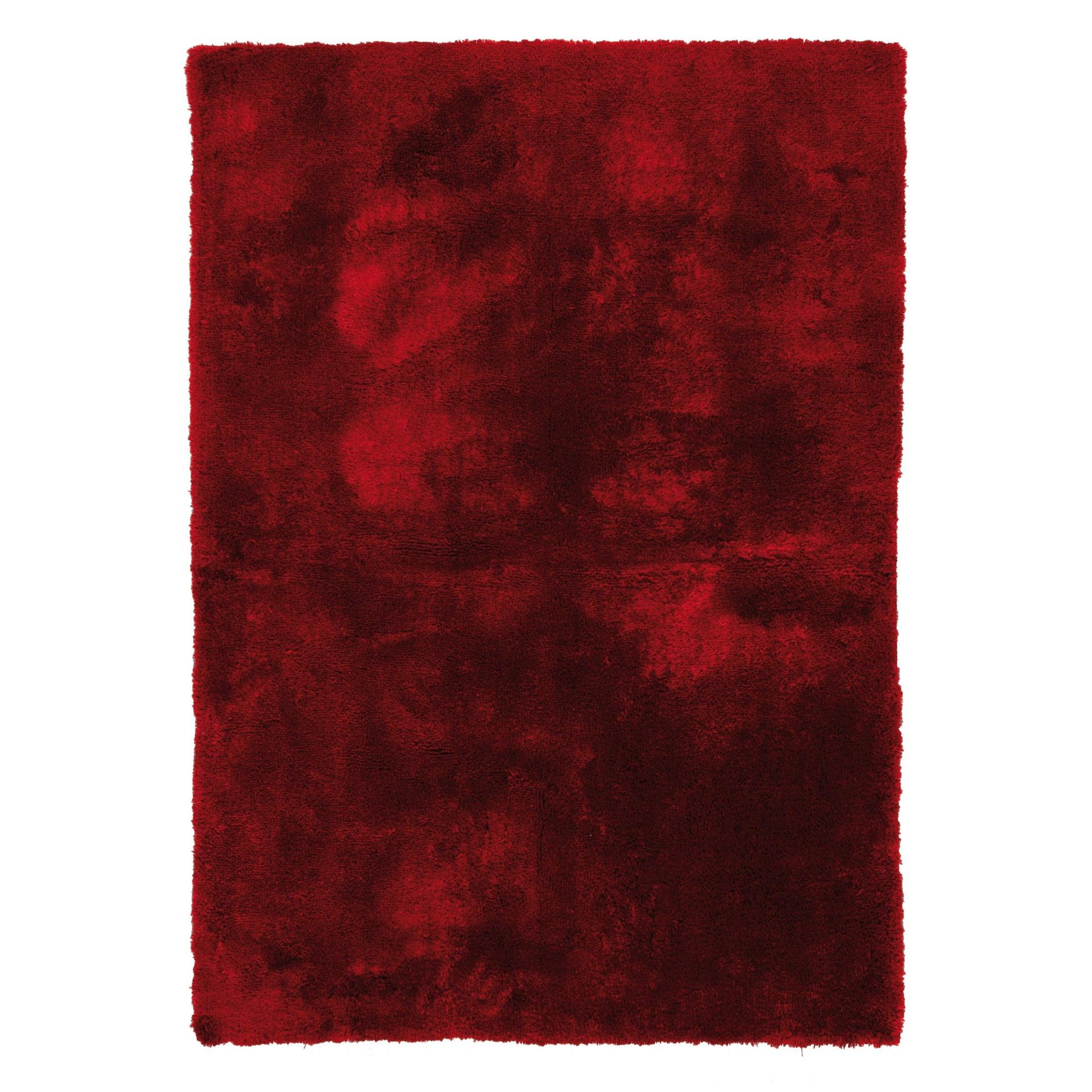 Tappeto Shaggy coccole , rosso, 120x170 - 9