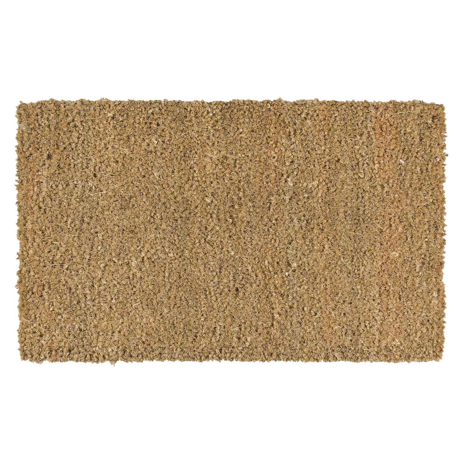 Zerbino Greggio in cocco beige 100x120 cm - 1