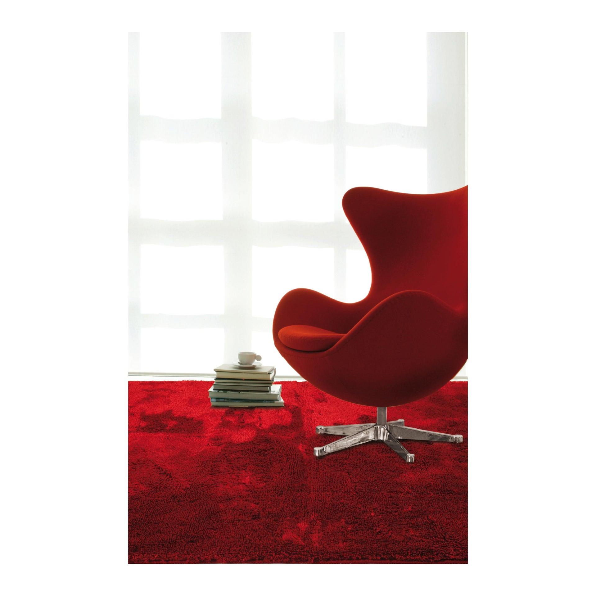 Tappeto Shaggy coccole , rosso, 120x170 - 5