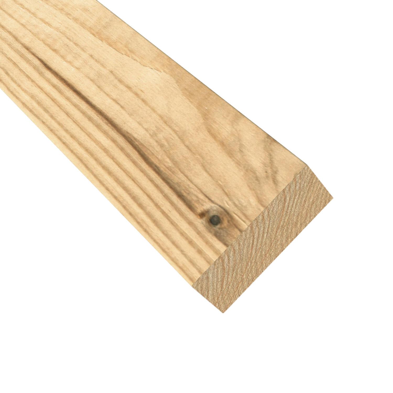 Profilo di chiusura eagle in legno H 3 x L 135 cm - 1