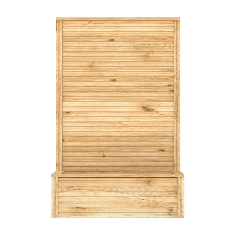 Accessori di decorazione Eagle in legno colore terra H 45 cm, L 125 x P 35 cm - 5