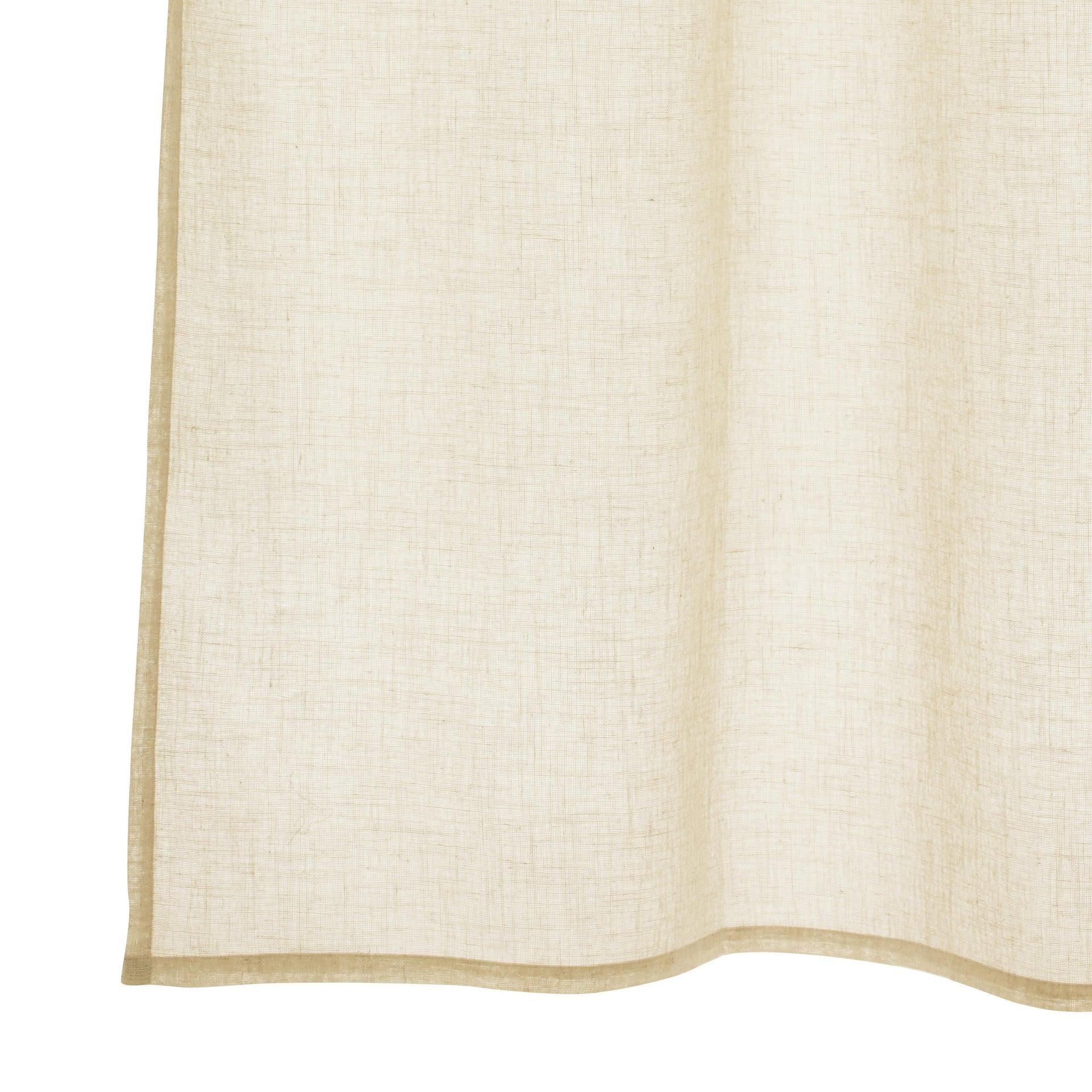 Tenda INSPIRE Charlina beige occhielli 140 x 280 cm - 6