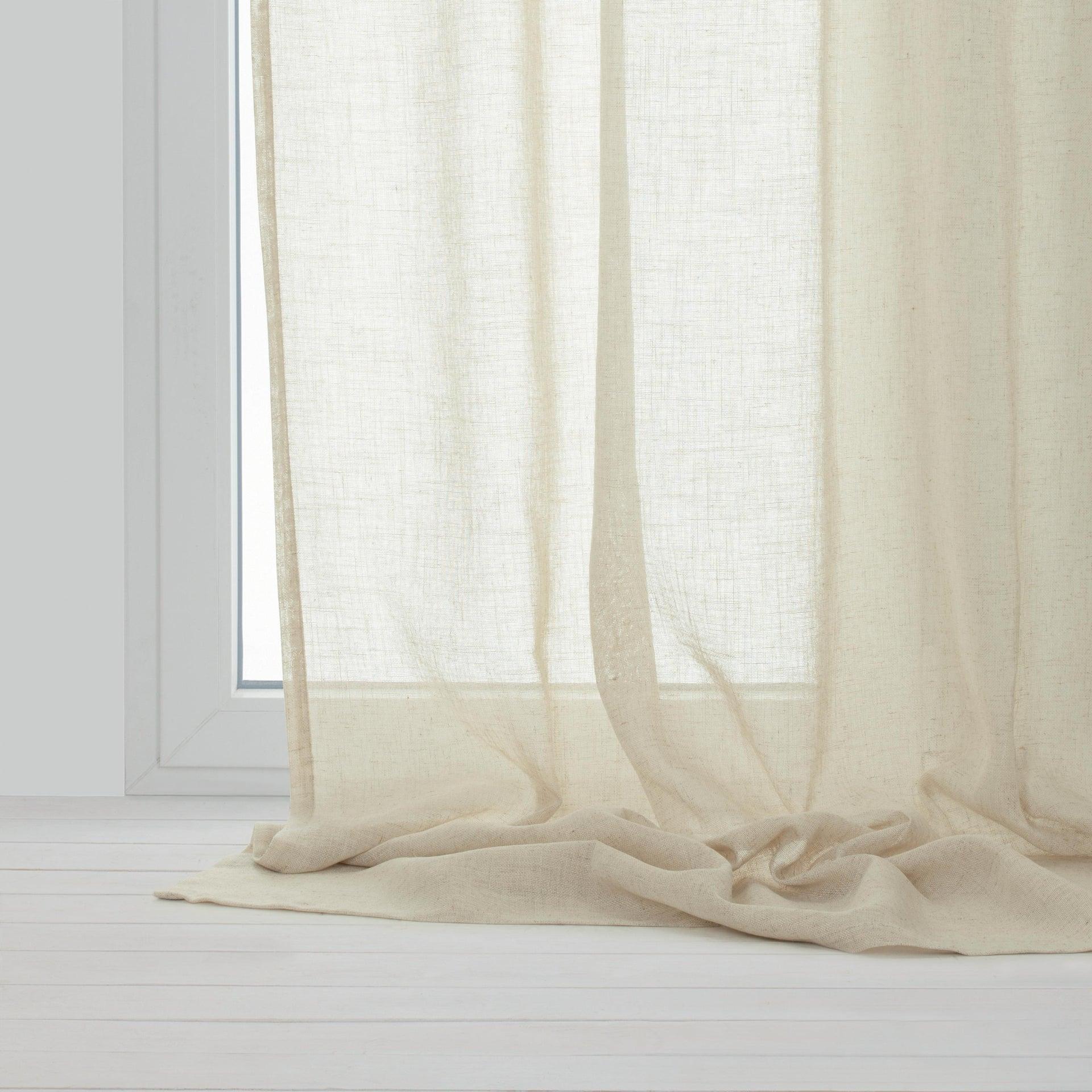 Tenda INSPIRE Charlina beige occhielli 140 x 280 cm - 3
