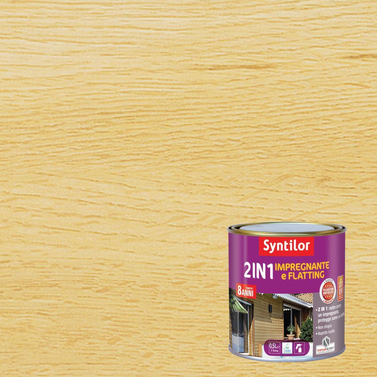 Impregnante a base acqua SYNTILOR incolore 0.5 L - 1