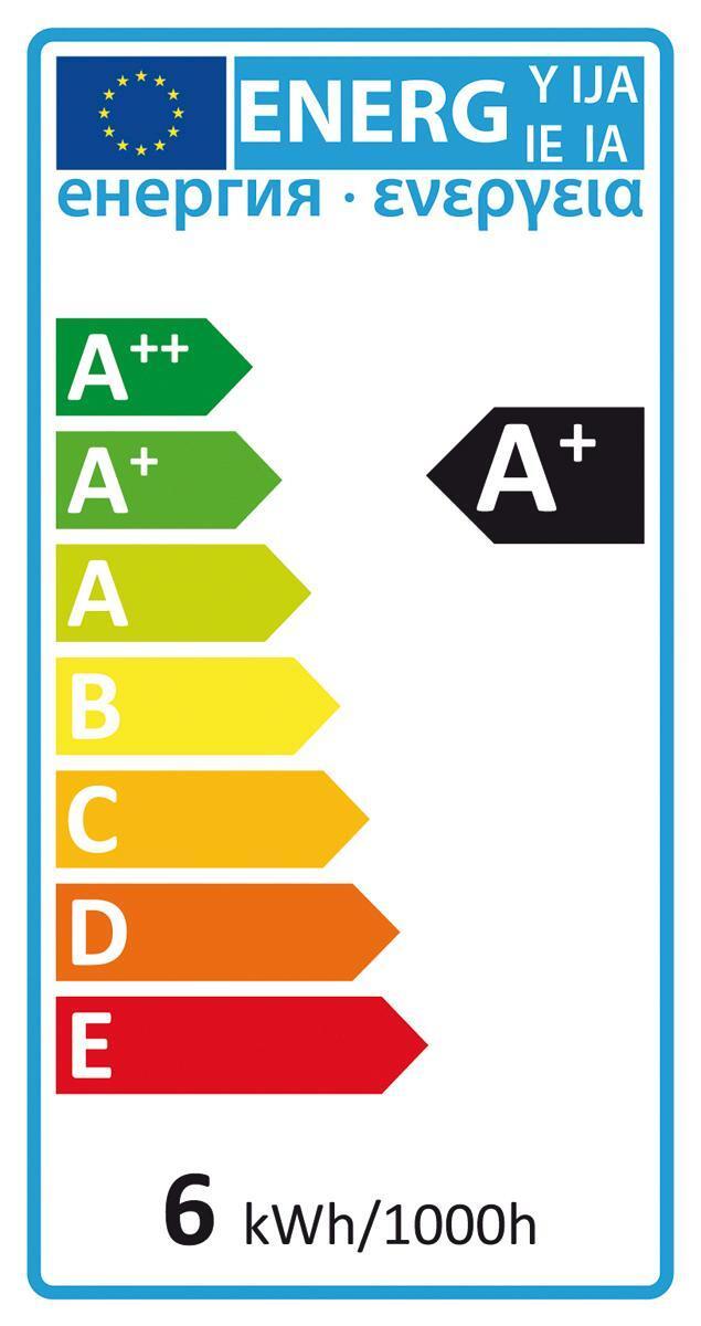 Lampadina LED, GU10, Faretto, Trasparente, Luce calda, 5.3W=460LM (equiv 50 W), 100° , LEXMAN - 2
