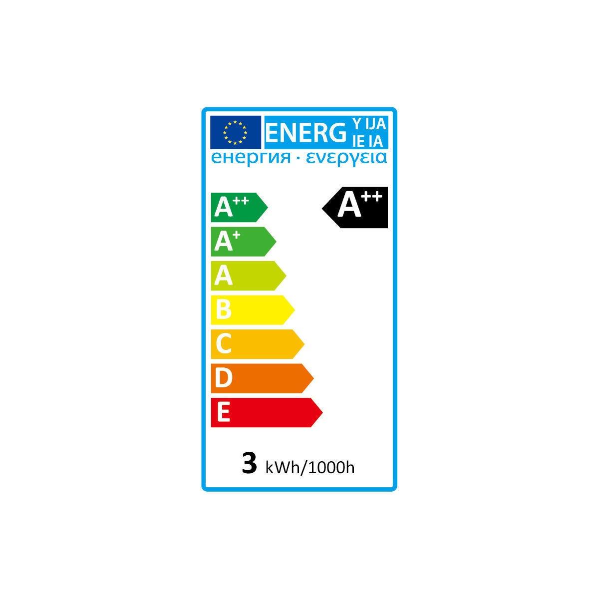 Lampadina LED, E14, Tubo, Trasparente, Luce calda, 2.5W=250LM (equiv 25 W), 360° , LEXMAN - 3