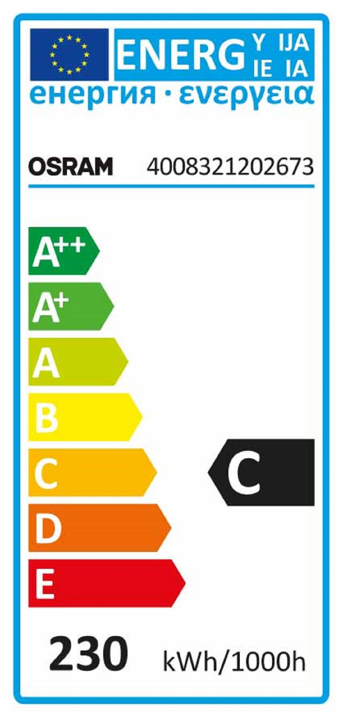 Lampadina Alogena, R7S, 118 mm, Lineare, Trasparente, Luce calda, 230W=5000LM (equiv 230 W), 300° , OSRAM - 3