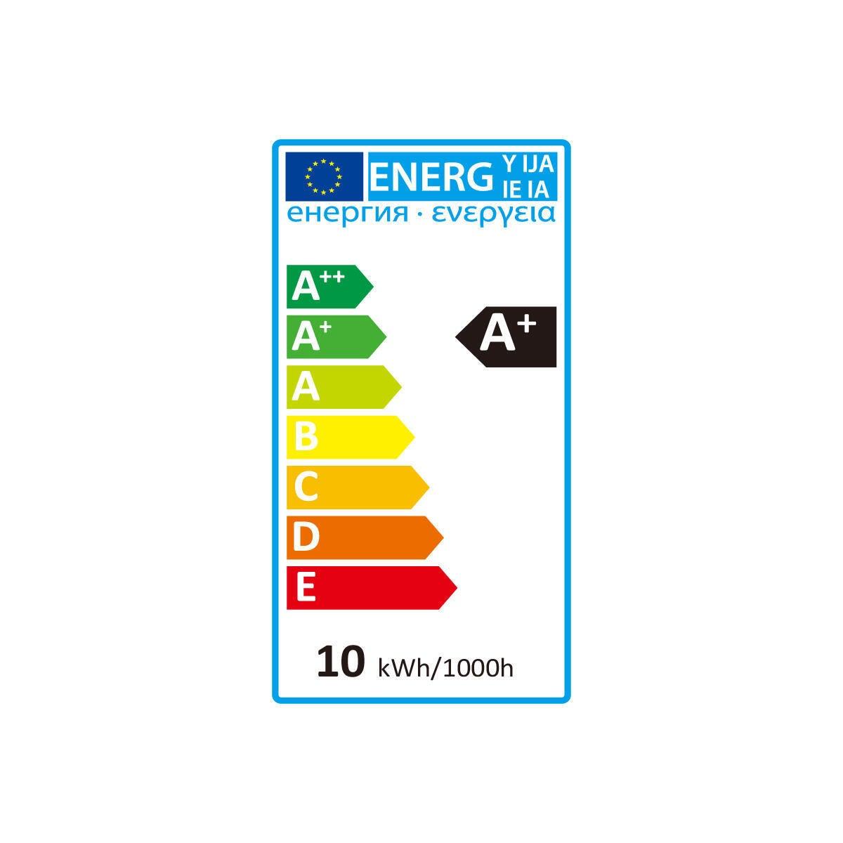 Lampadina LED, E27, Faretto, Trasparente, Luce calda, 10.5W=875LM (equiv 100 W), 30° , LEXMAN - 9