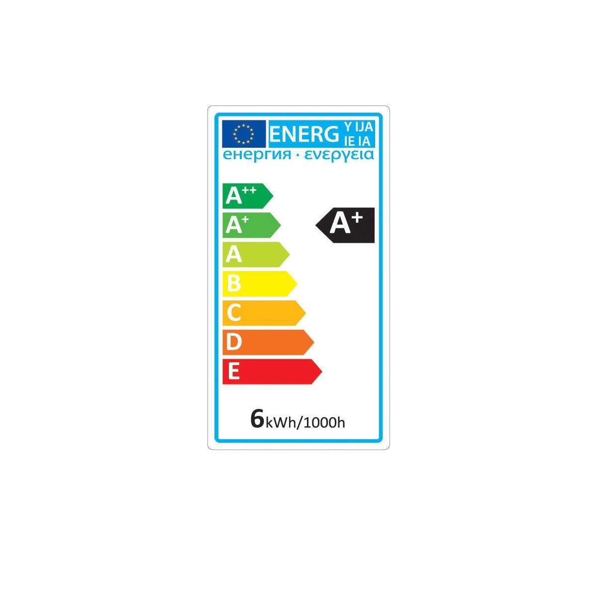 Lampadina LED, GU5.3, Faretto, Trasparente, Luce naturale, 5W=450LM (equiv 35 W), 100° , LEXMAN - 6