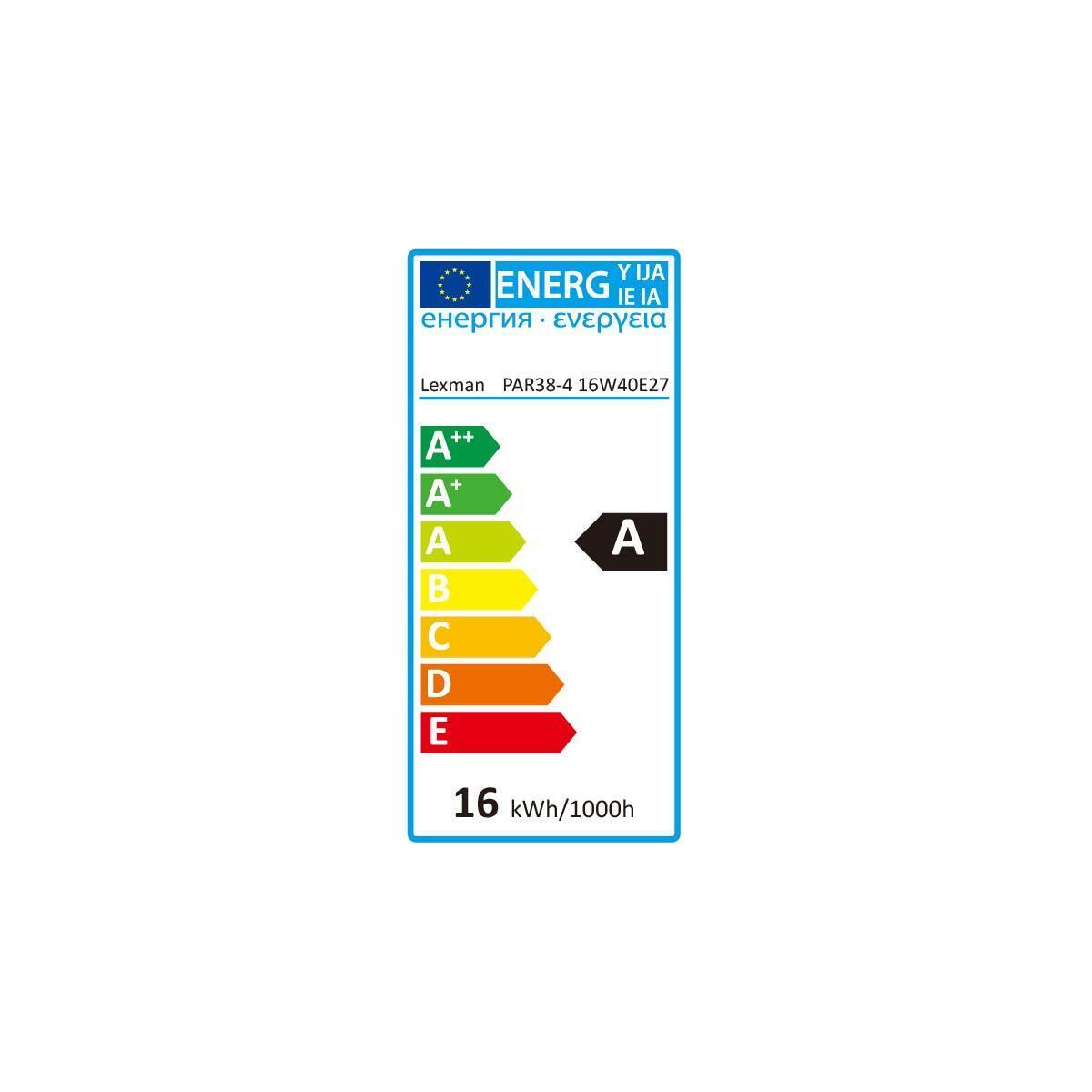 Lampadina LED, E27, Faretto, Trasparente, Luce naturale, 10.5W=875LM (equiv 100 W), 30° , LEXMAN - 5