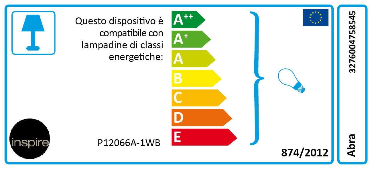 Applique bohème Abra ruggine, in metallo, 23x8.5 cm, INSPIRE - 5