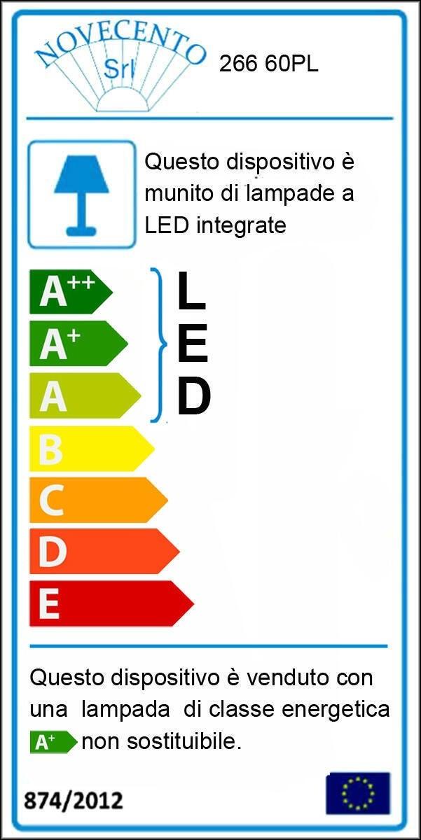 Plafoniera moderno Tammy LED integrato bianco D. 60 cm - 2