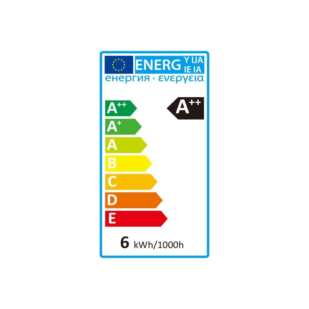 Lampadina LED, GU10, Faretto, Trasparente, Luce calda, 5.3W=460LM (equiv 50 W), 100° , LEXMAN - 9