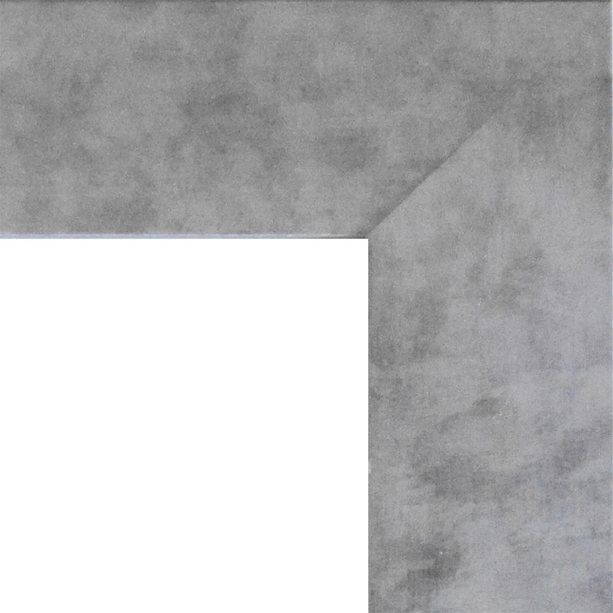 Specchio a parete rettangolare Osakan argento 60x90 cm - 6