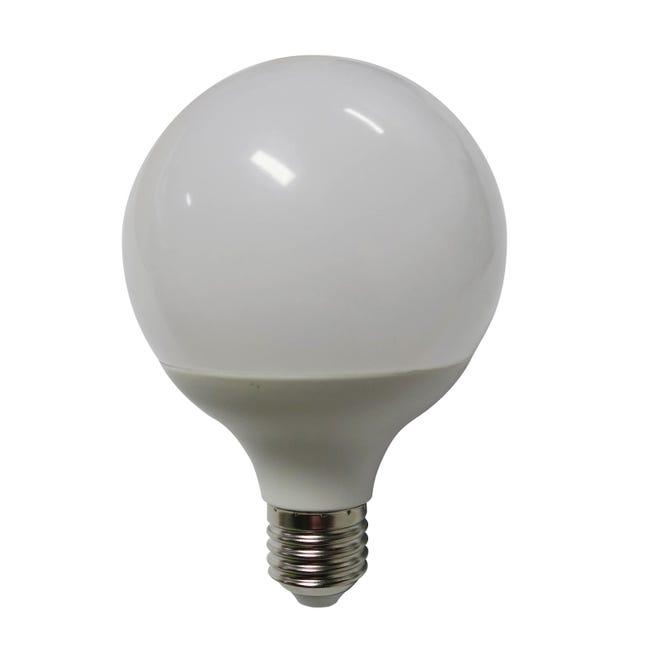 Lampadina LED, E27, Globo, Opaco, Luce calda, 12W=1100LM (equiv 75 W), 240° , LEXMAN - 1