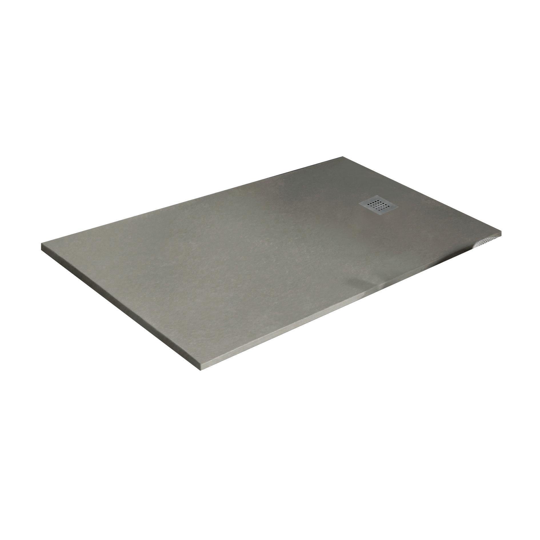 Piatto doccia resina Strato 180 x 80 cm crema - 1