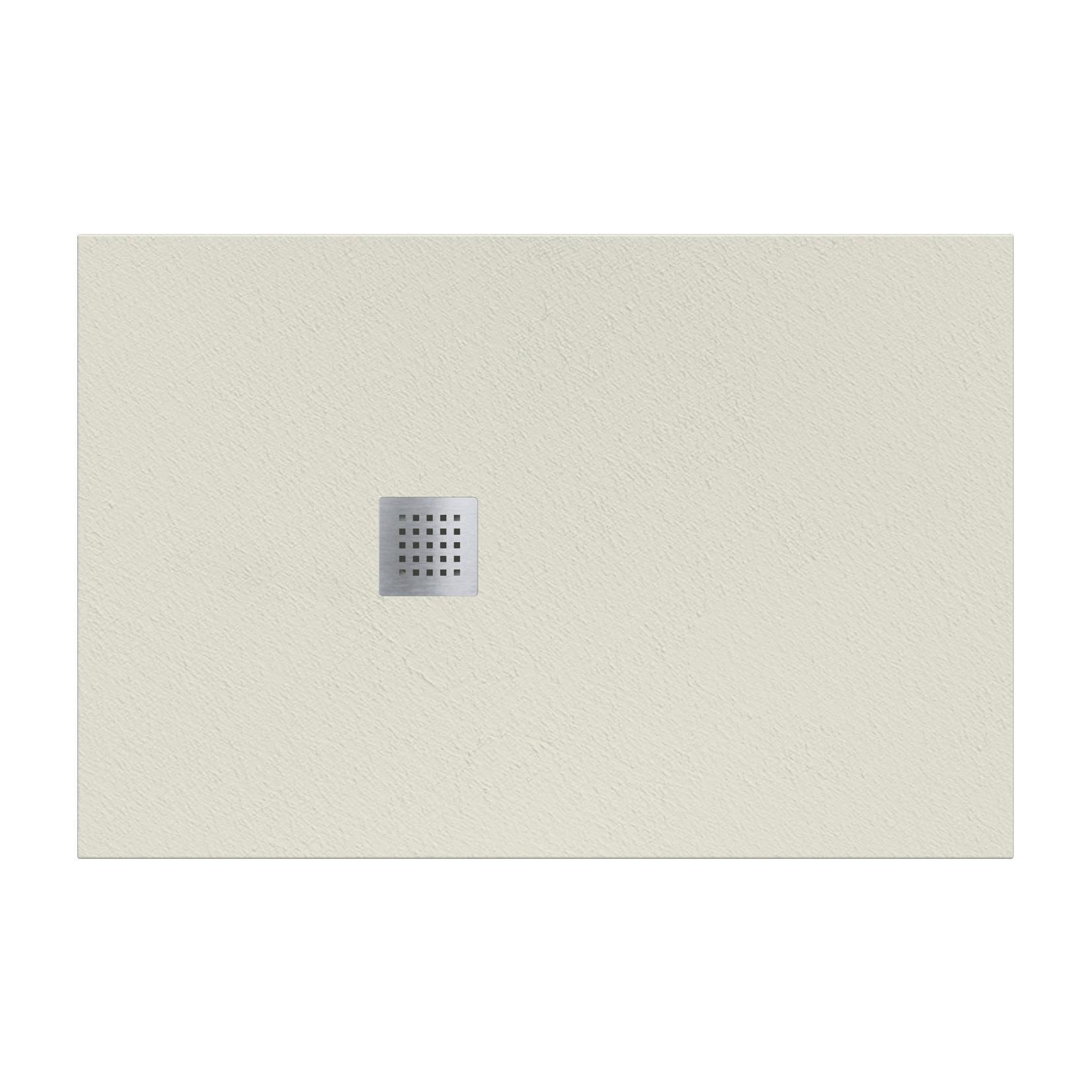 Piatto doccia resina Strato 180 x 80 cm crema - 2