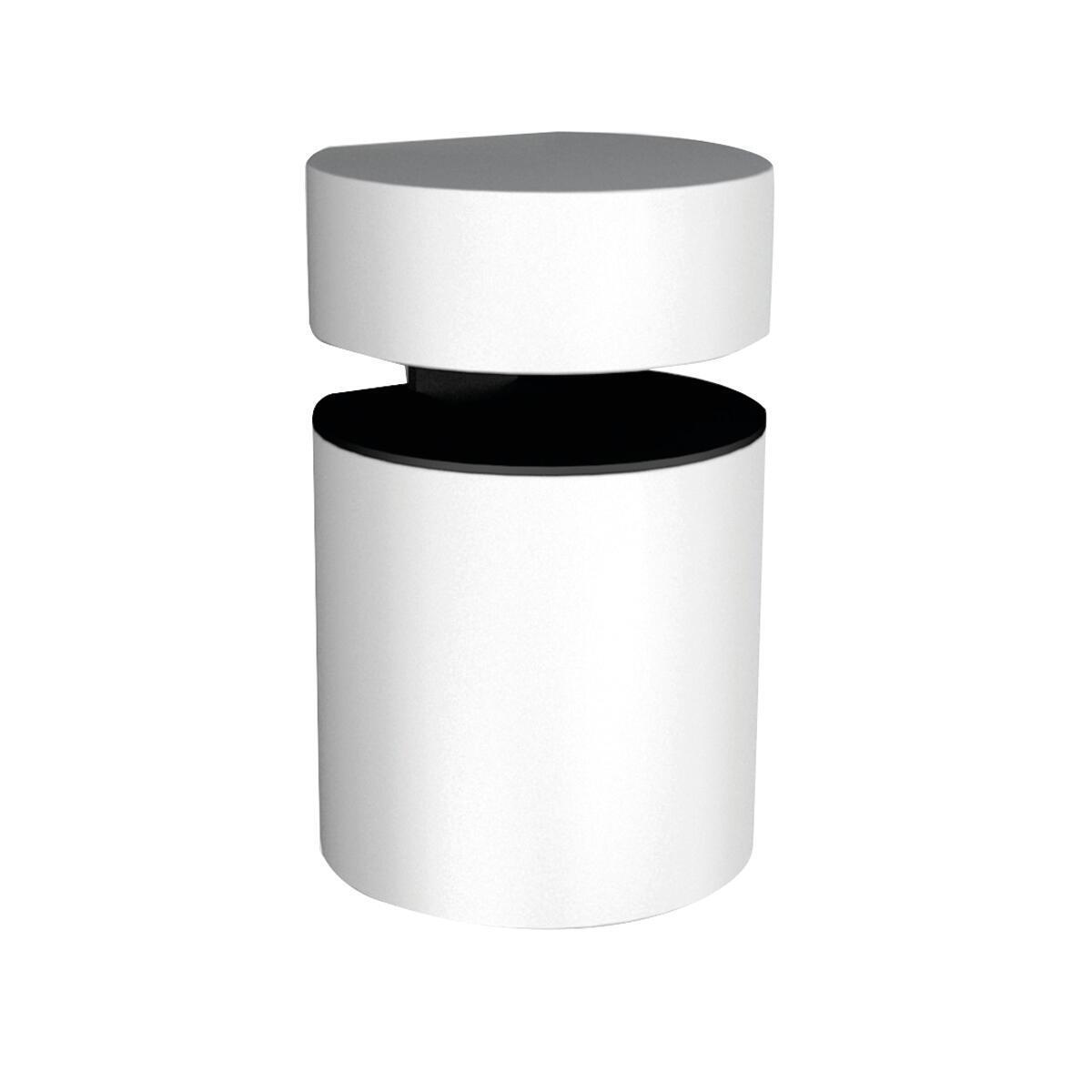 Reggimensola Basket L 3.8 x H 5 x P 32 cm bianco