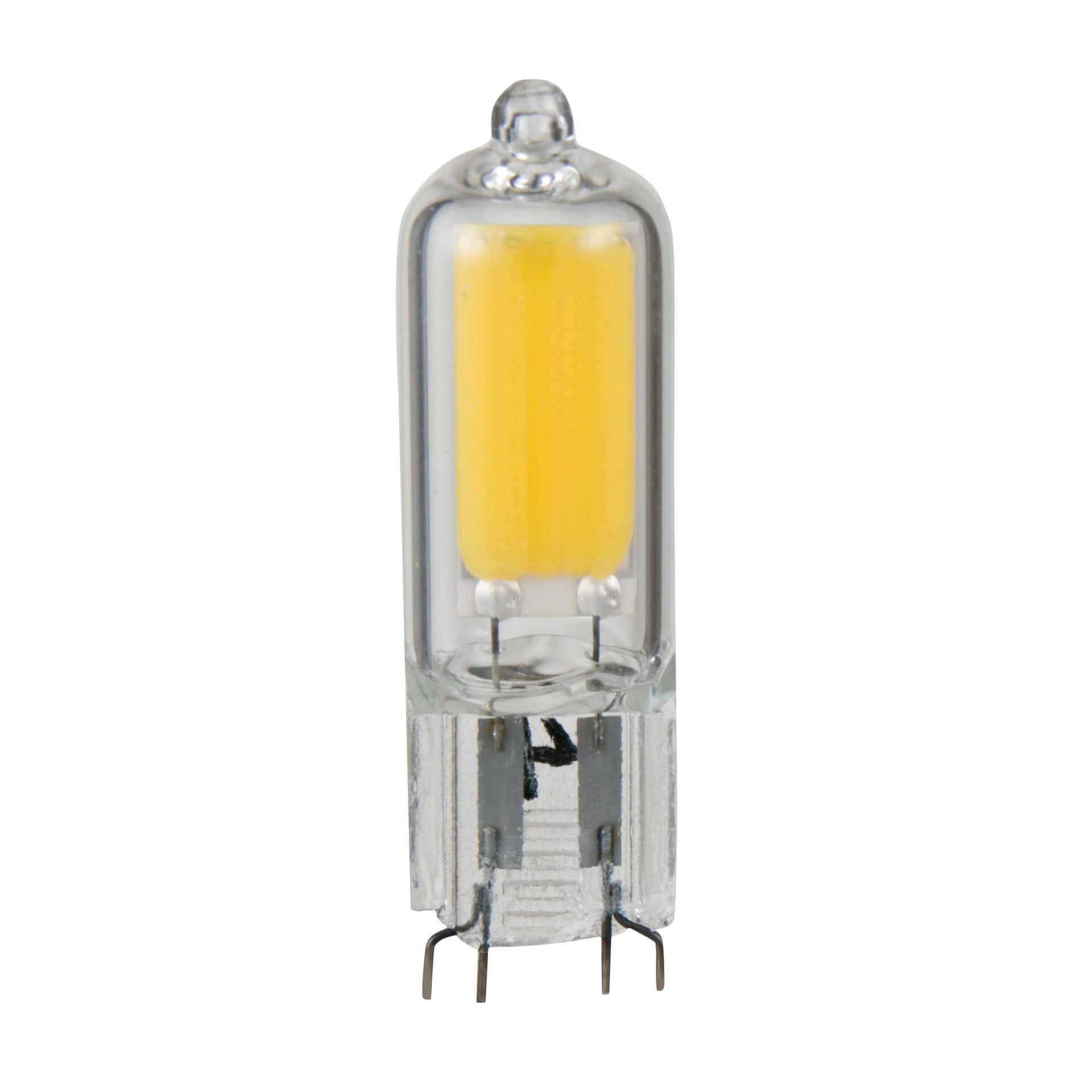 Lampadina LED, G9, Capsula, Trasparente, Luce calda, 2W=200LM (equiv 20 W), 360° , LEXMAN - 1