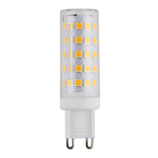 Lampadina LED, G9, Capsula, Opaco, Luce calda, 6W=630LM (equiv 50 W), 360° - 1