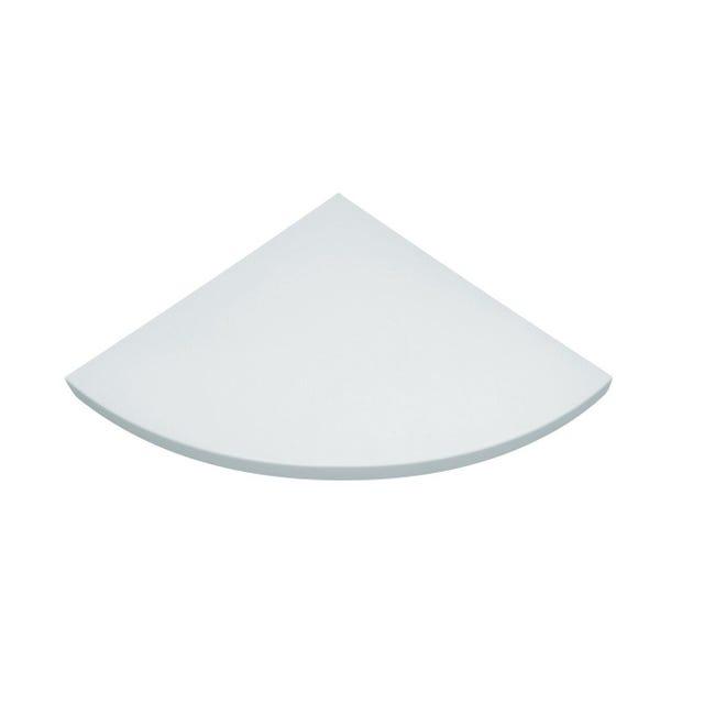 Mensola Spaceo L 35 x P 35 cm, Sp 1.8 cm bianco - 1