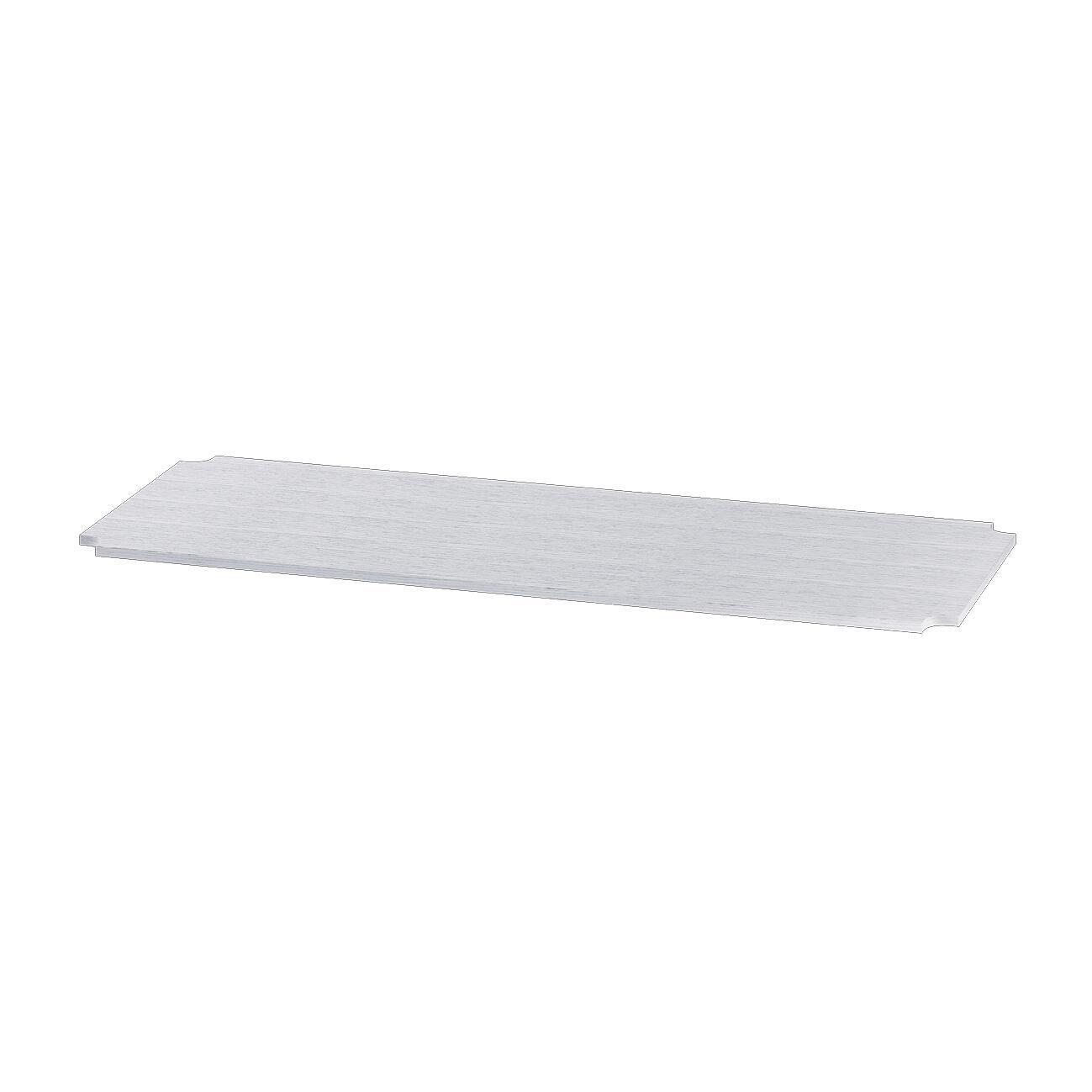 Mensola Spaceo Chrome Style+ L 35 x H 1 x P 35 cm bianco
