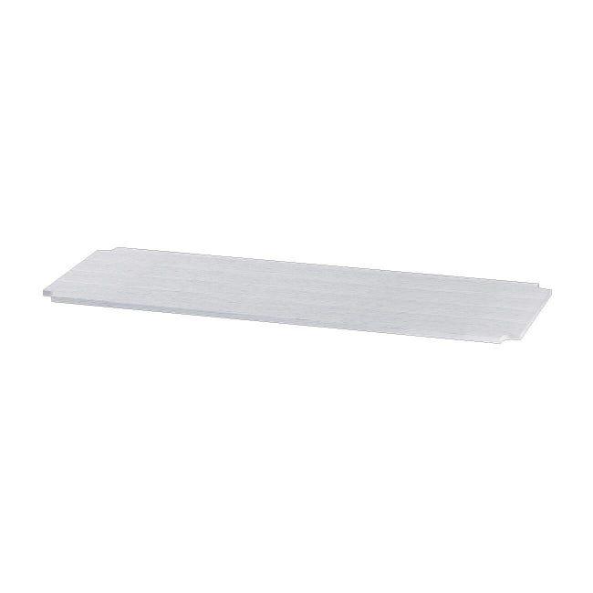 Mensola Spaceo Chrome Style+ L 35 x H 1 x P 35 cm bianco - 1