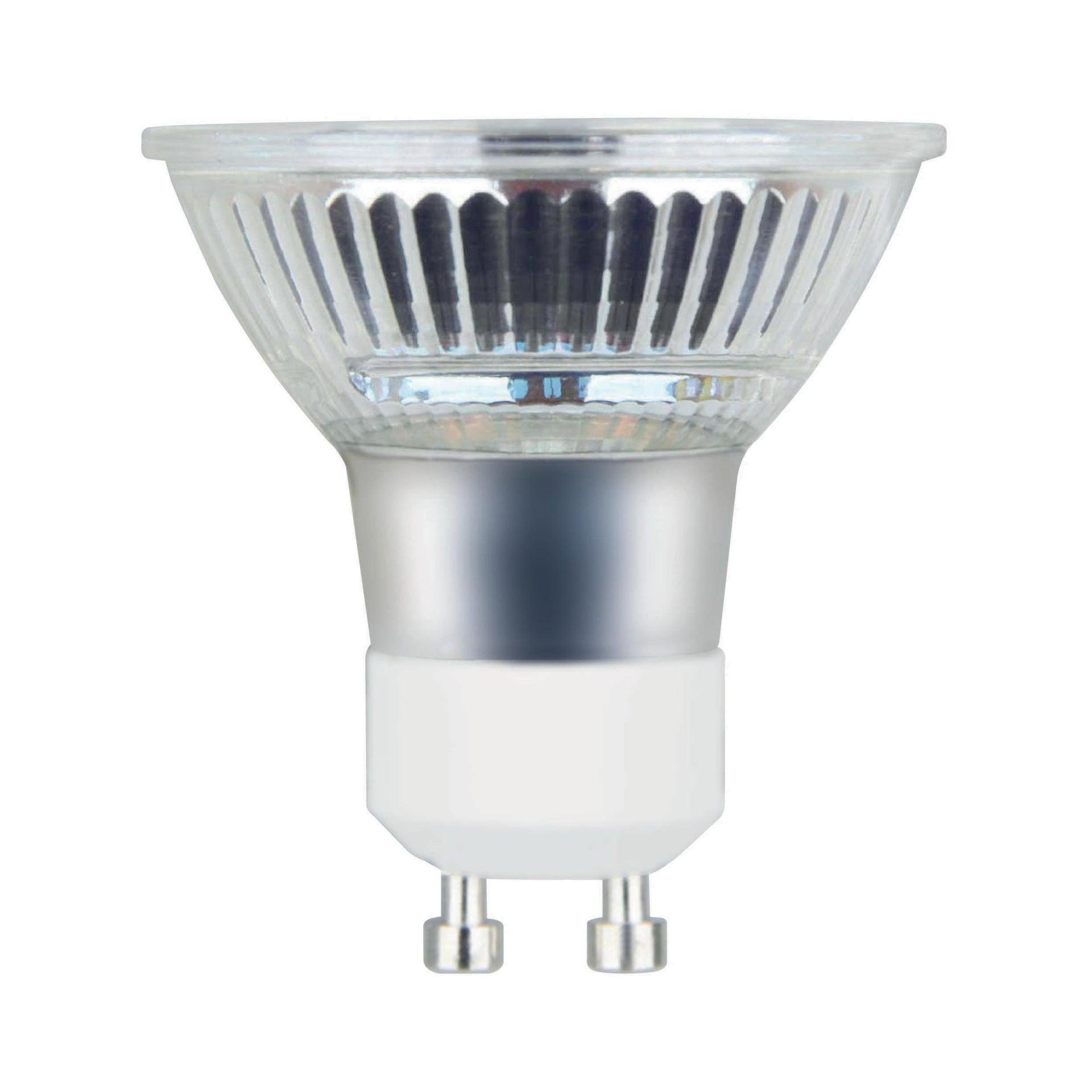 Lampadina LED, GU10, Faretto, Trasparente, Luce calda, 5.3W=460LM (equiv 50 W), 100° , LEXMAN - 1