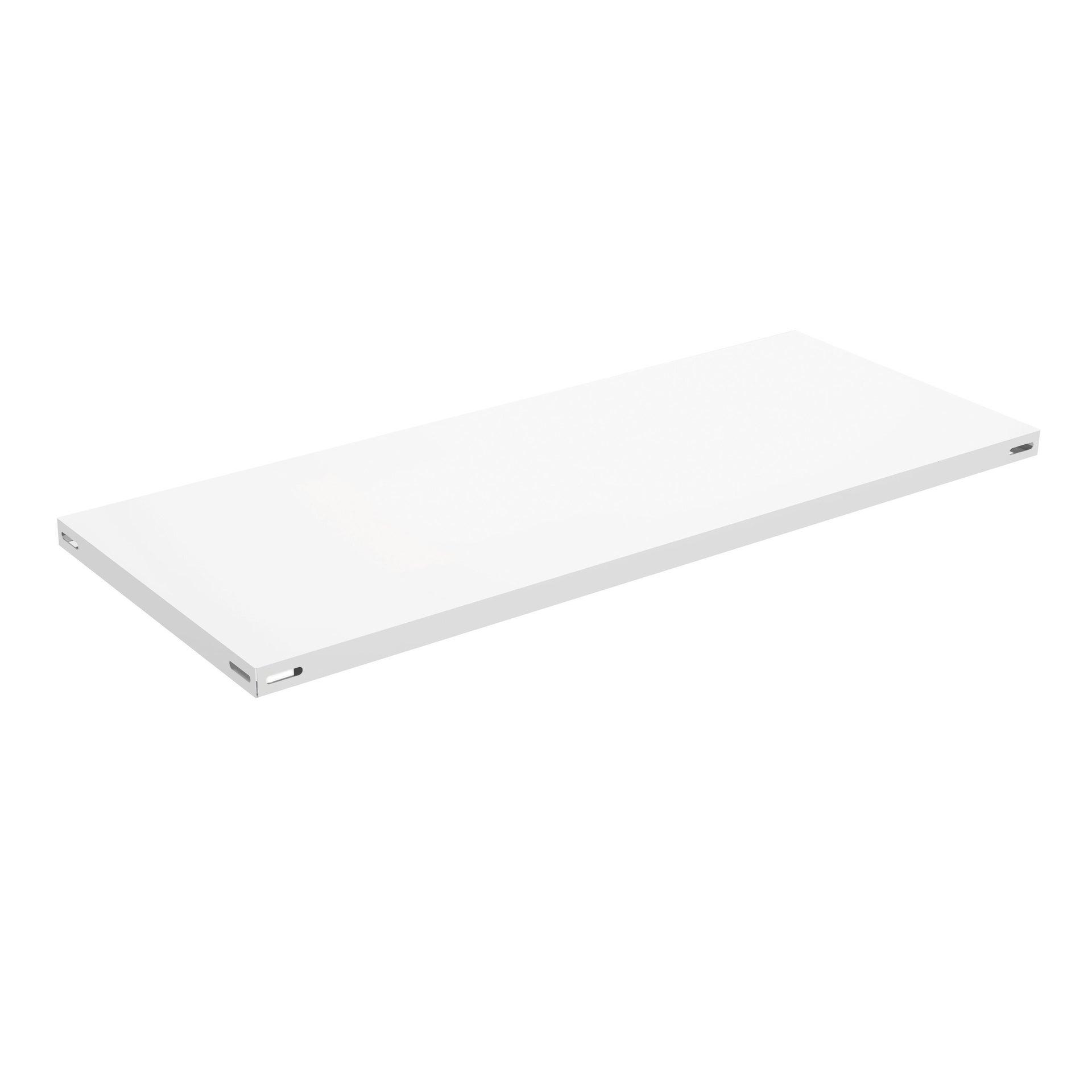 Ripiano L 80 x H 3 x P 30 cm bianco