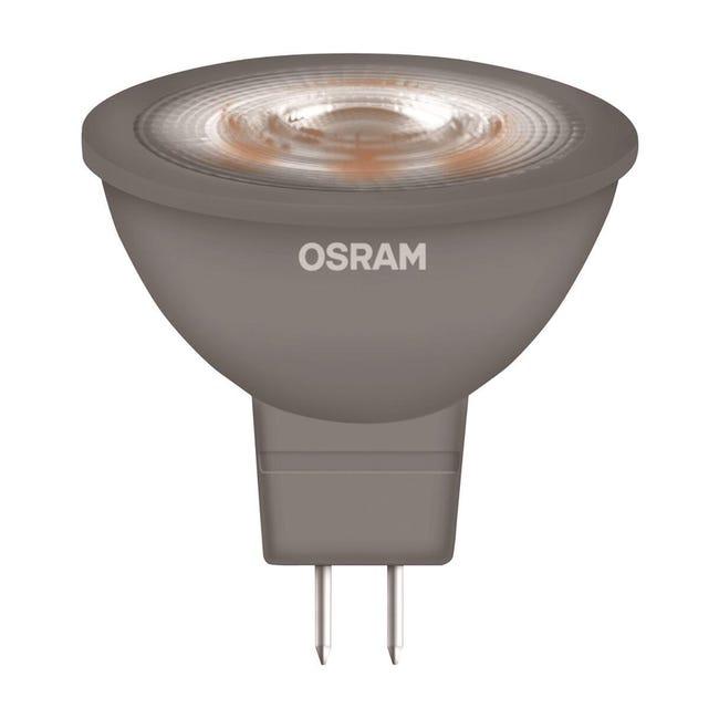 Lampadina LED, GU5.3, Faretto, Opaco, Luce calda, 5W=345LM (equiv 35 W), 36° , OSRAM - 1