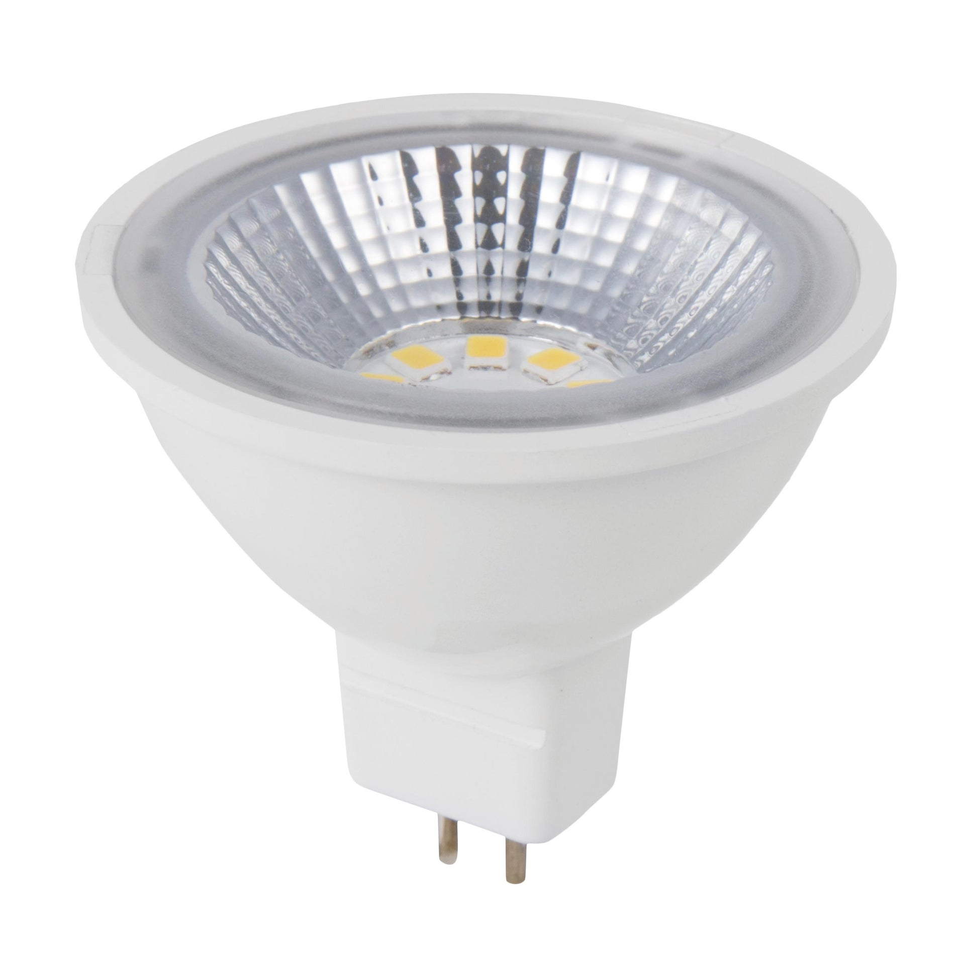 Lampadina LED, GU5.3, Faretto, Trasparente, Luce naturale, 5W=450LM (equiv 35 W), 100° , LEXMAN - 1