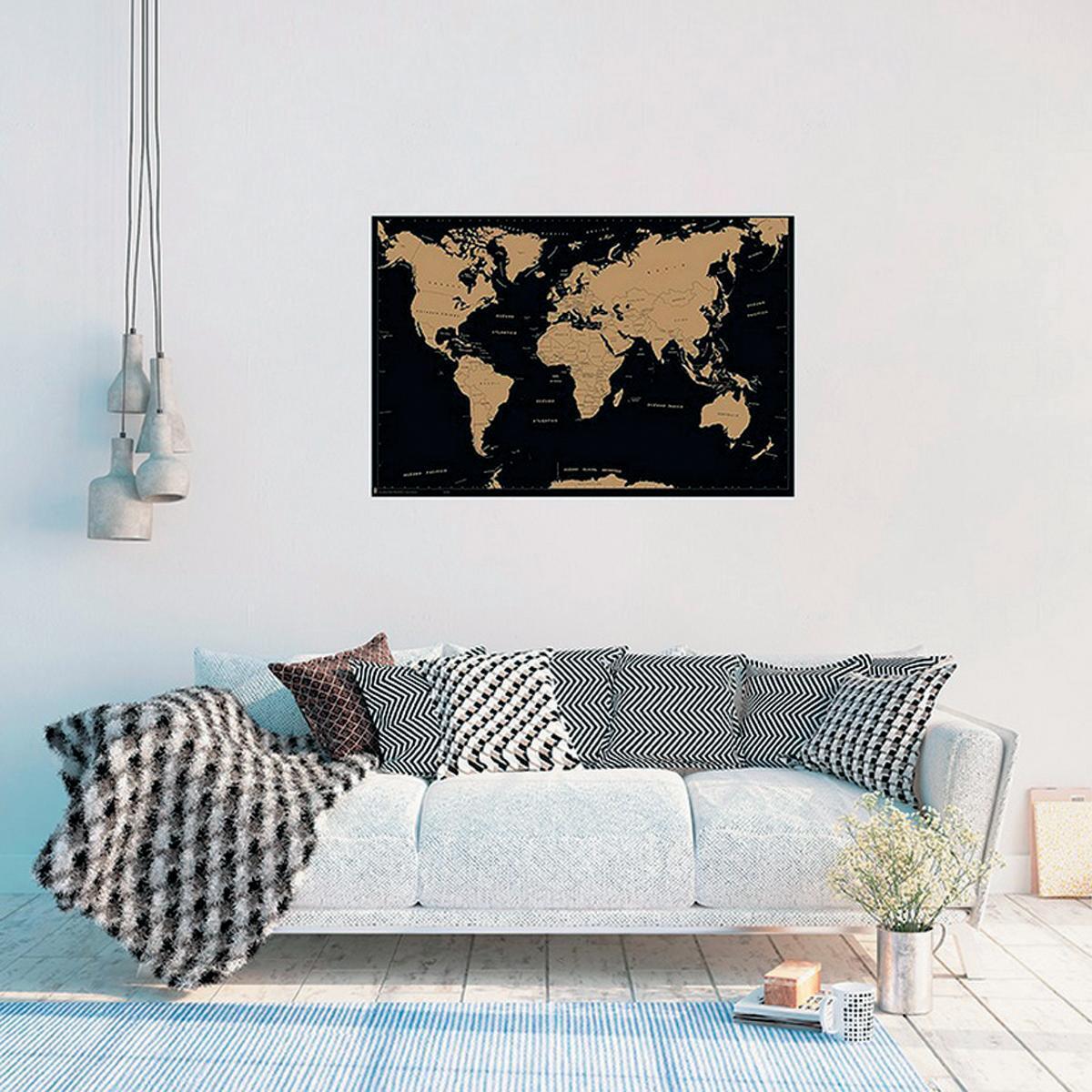 Poster Mappamondo 91.5x61 cm - 2