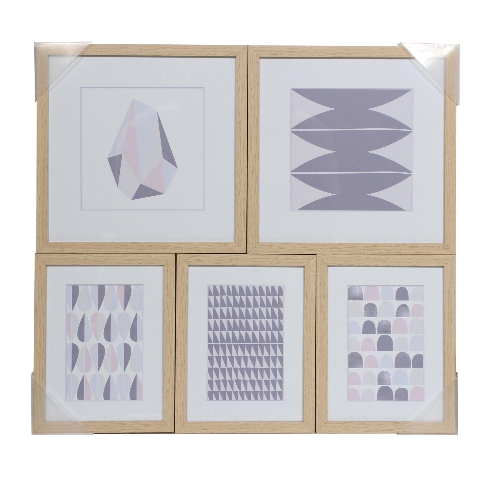 Poster Origami 54x50 cm