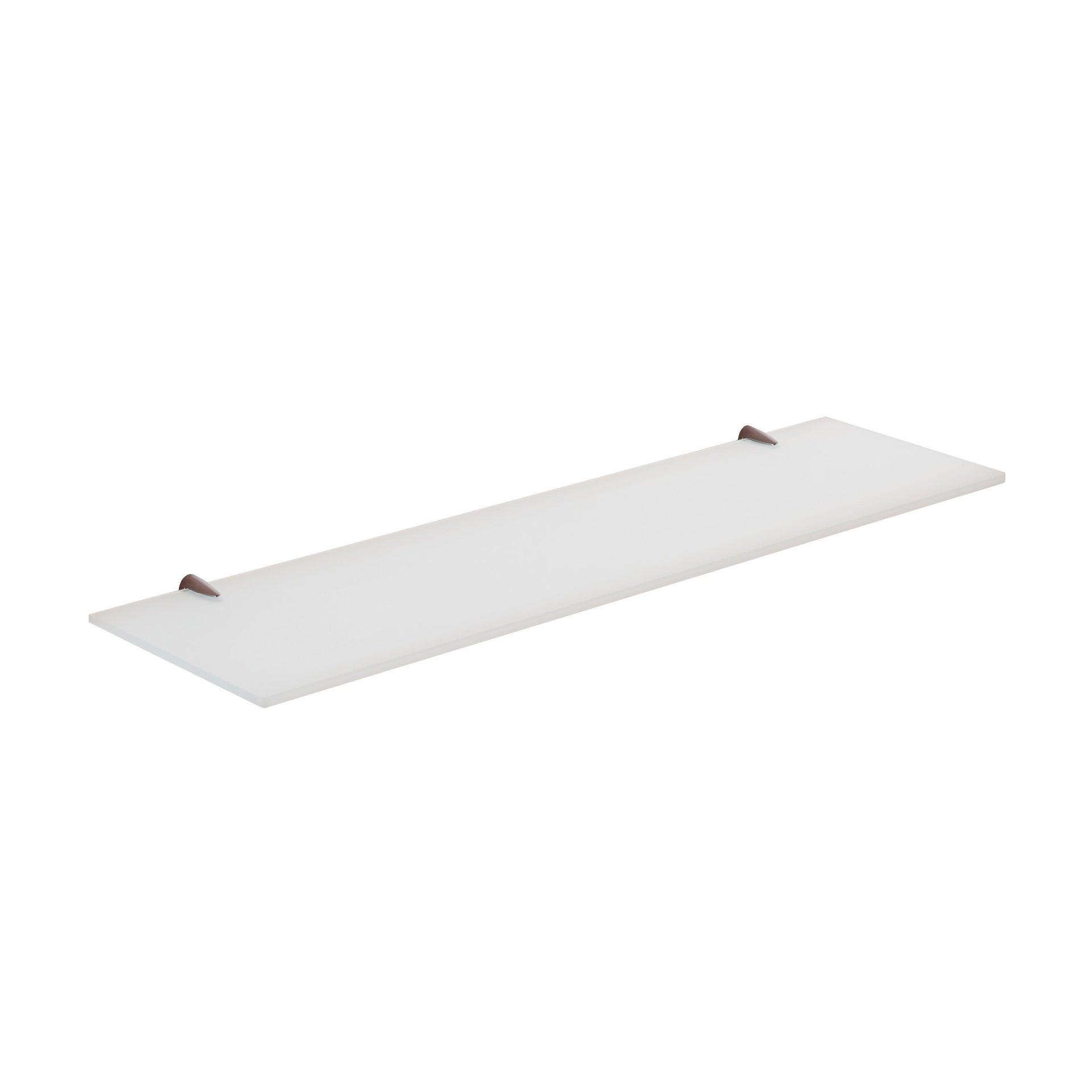 Mensola per bagno Artemis L 60 cm bianco