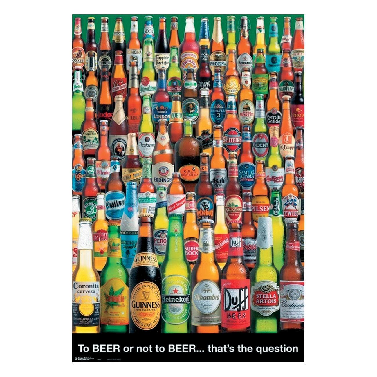 Poster Cerveza 2bronot2br 61x91.5 cm - 1