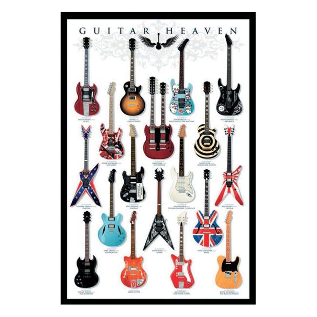 Poster Guitar heaven 61x91.5 cm - 1
