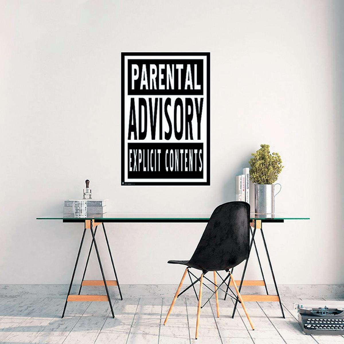 Poster Parental advisory 61x91.5 cm - 2