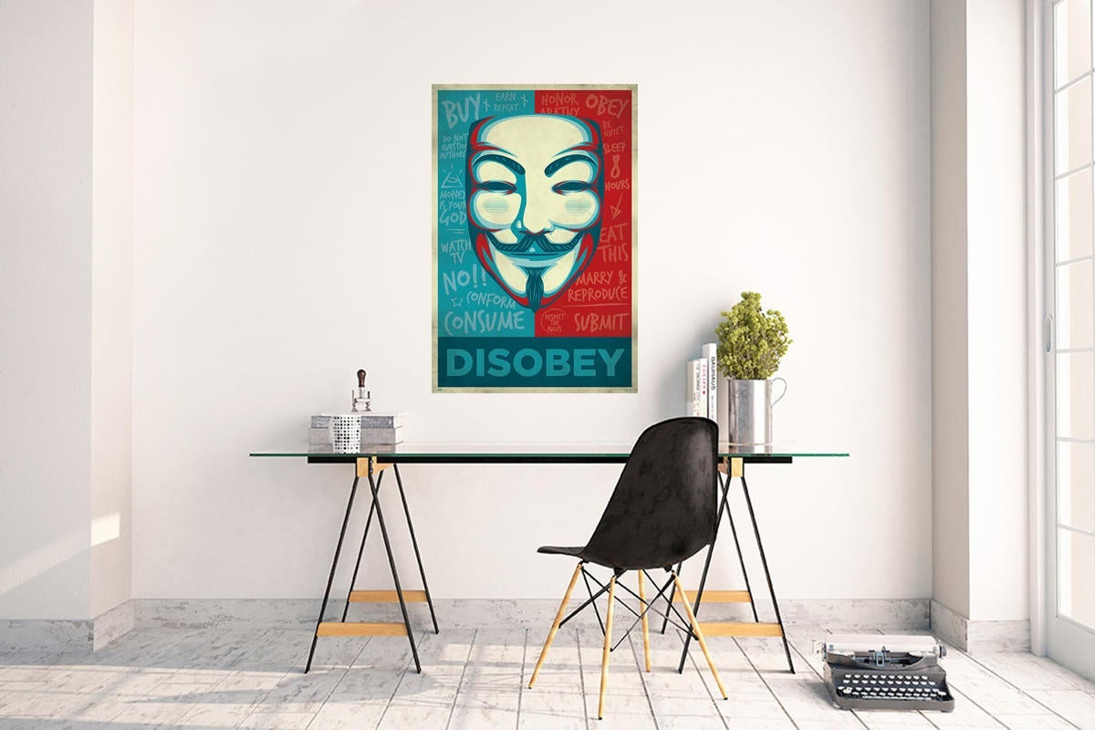Poster Disobey 61x91.5 cm - 2