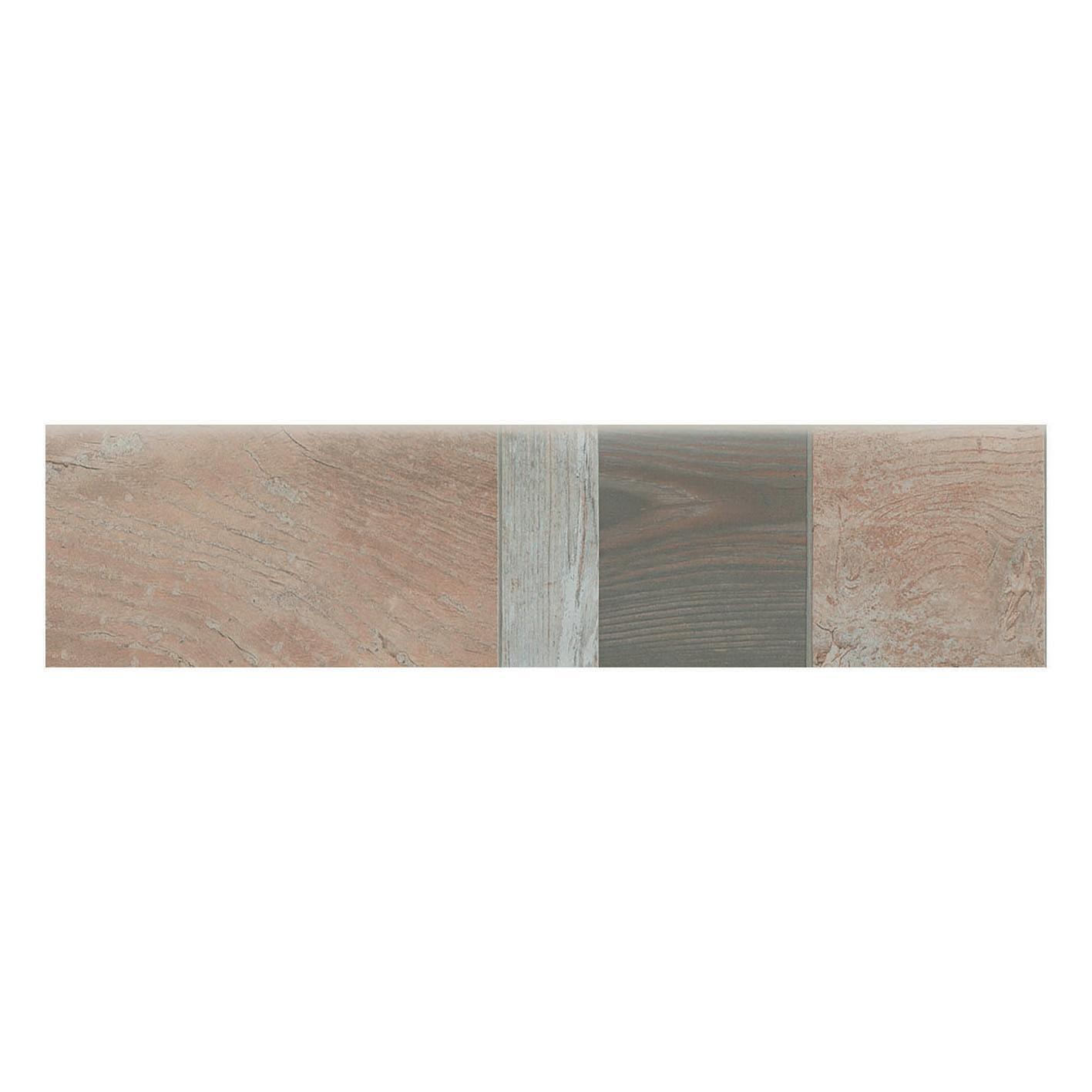 Battiscopa Balau H 7.5 x L 61.5 cm beige