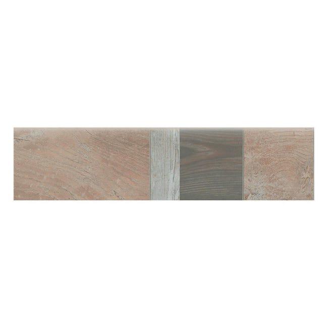 Battiscopa Balau H 7.5 x L 61.5 cm beige - 1