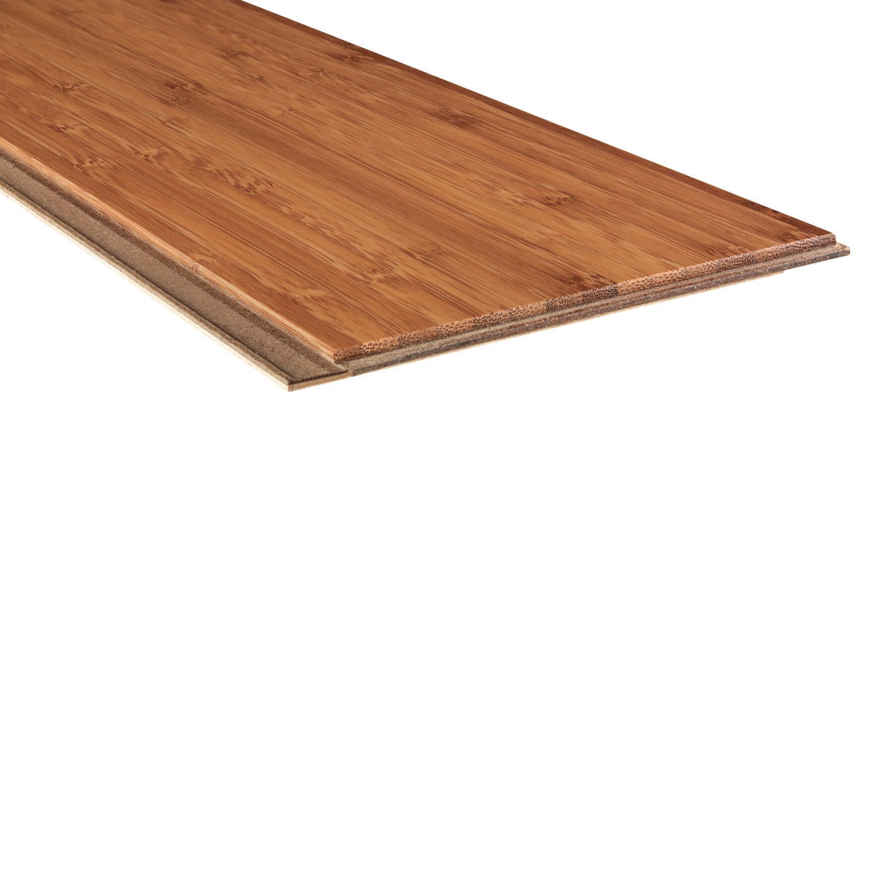 Parquet Multistrato verticale HDF bambù miele - 4