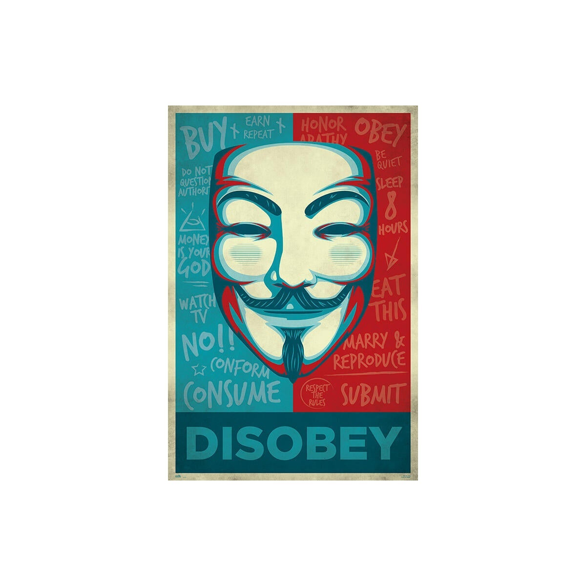 Poster Disobey 61x91.5 cm - 1