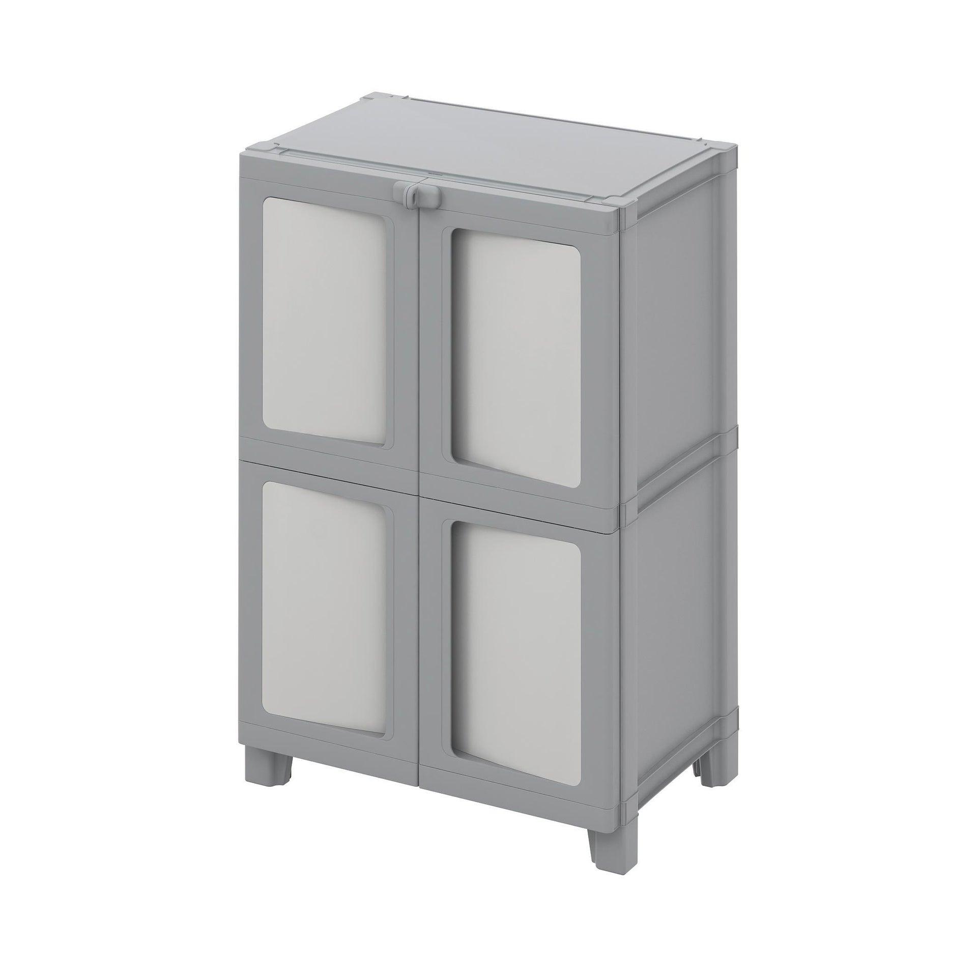 Armadio Modulize L 65 x P 40 x H 95 cm grigio - 1