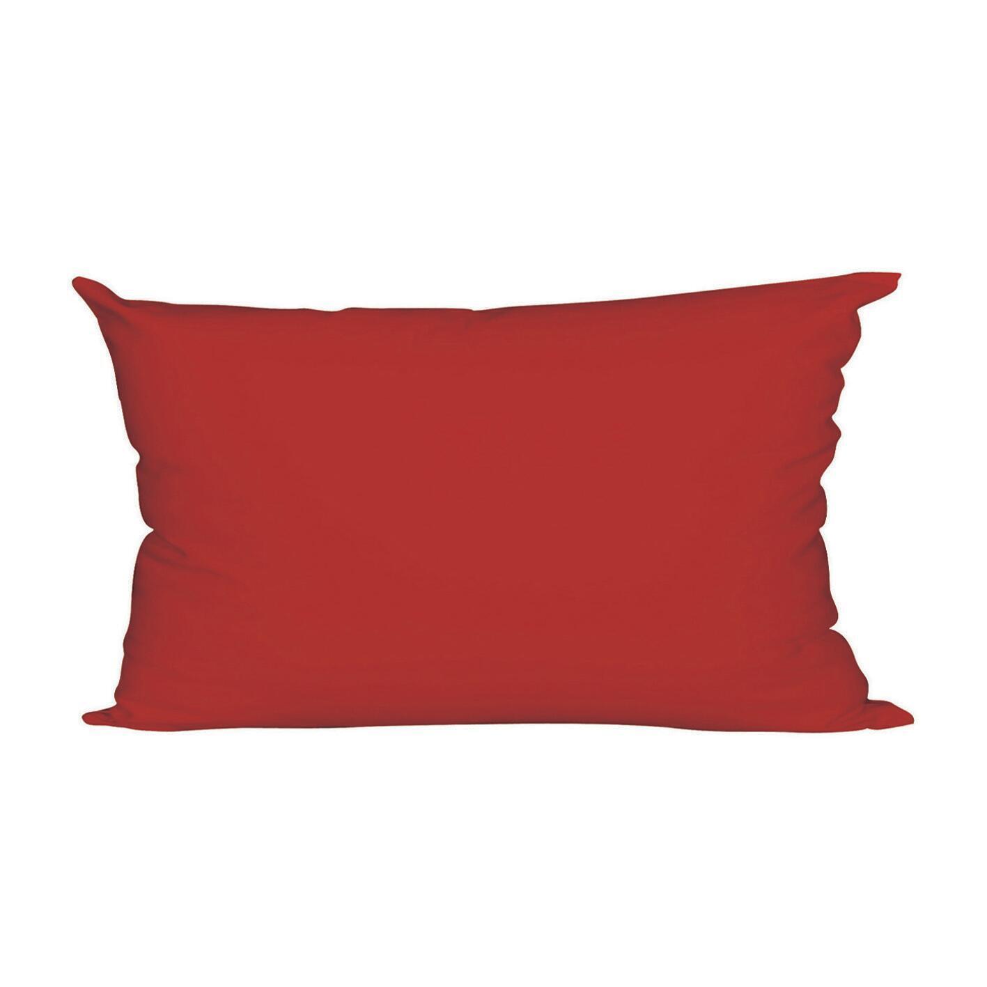 Fodera per cuscino Colorama rosso 50x30 cm - 1