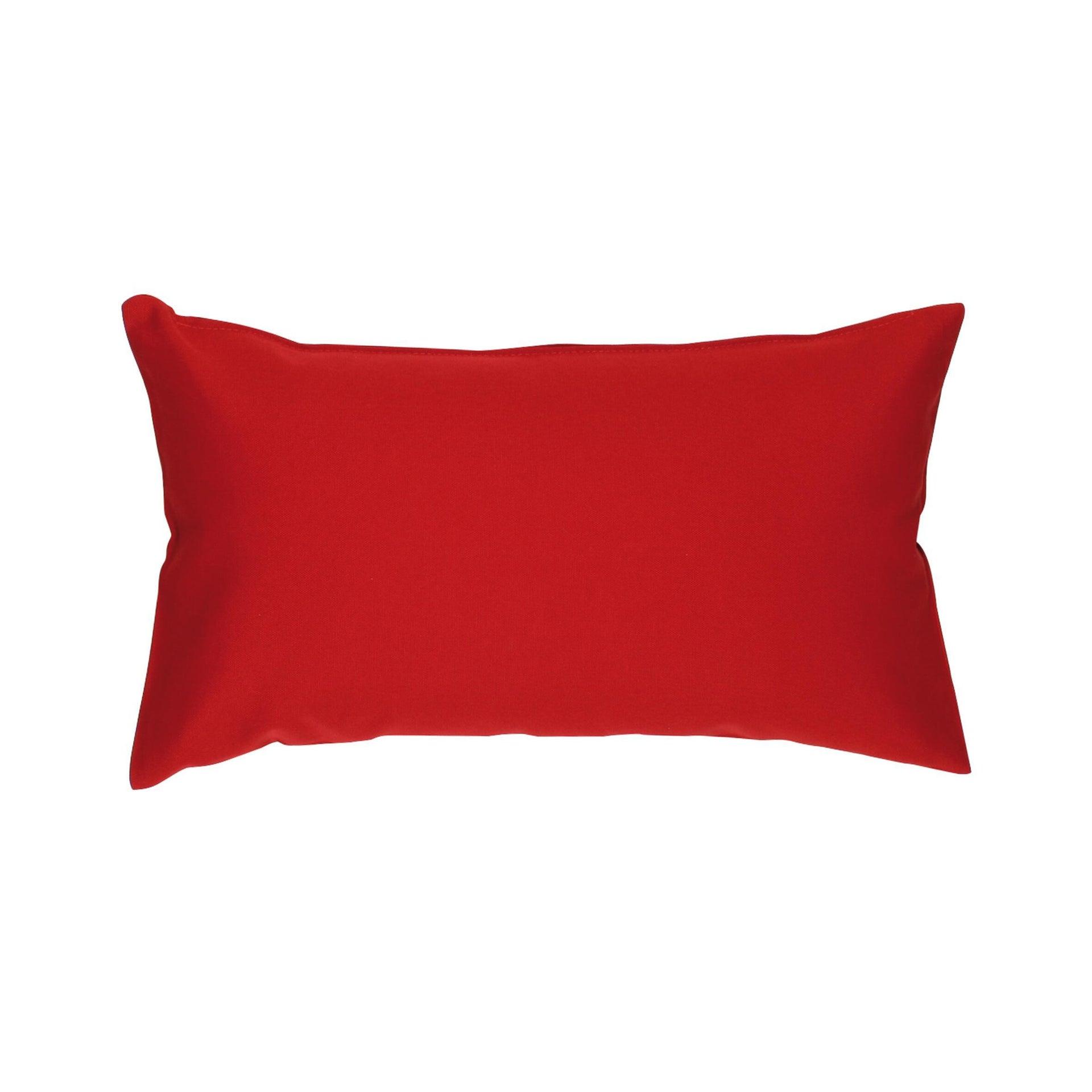 Fodera per cuscino Colorama rosso 50x30 cm - 2