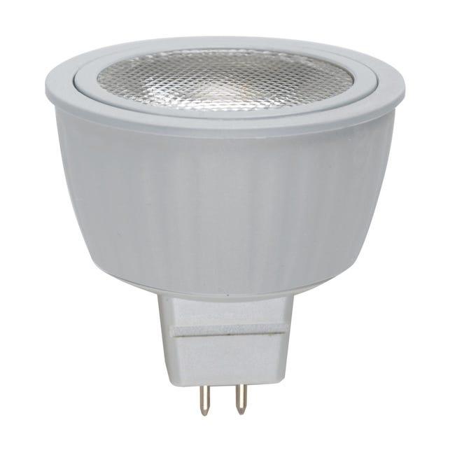 Lampadina LED, GU5.3, Faretto, Trasparente, Luce naturale, 5.5W=345LM (equiv 35 W), 36° , LEXMAN - 1
