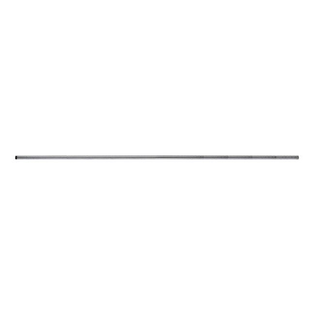 Ripiano in acciaio Spaceo Chrome Style+ L 220 x H 2.5 x Sp 25 cm grigio / argento cromato - 1