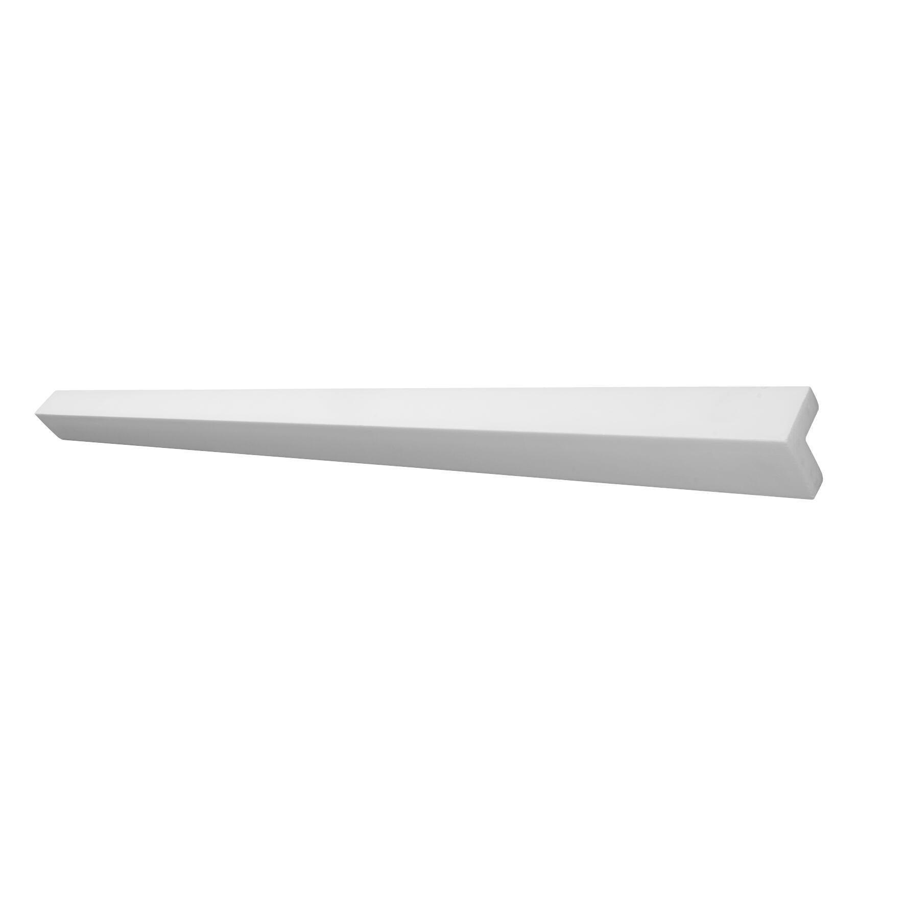 Cornice in polistirene estruso DECOSA Cable duct KP25 3 x 200 cm