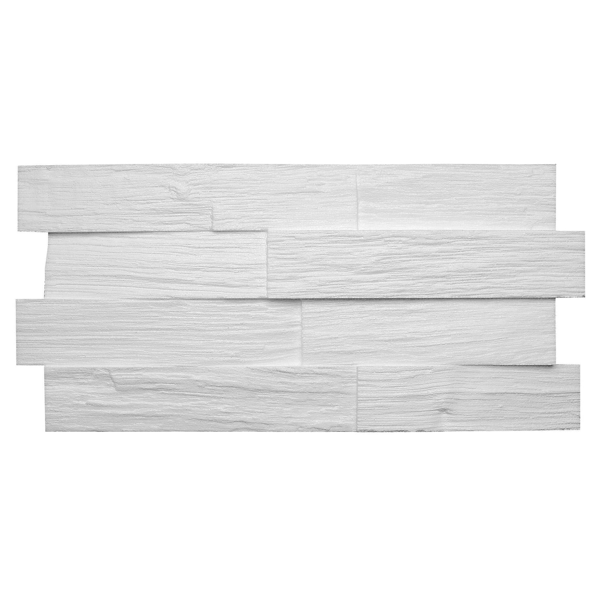 Placchetta decorativa da soffitto Wood L 50 x H 23.5 cm Sp 30 mm
